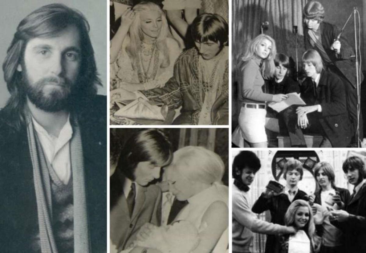 Collage di Patty Pravo e Gordon Faggetter