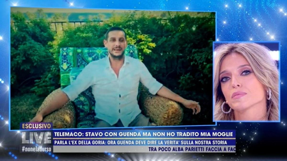Guenda Goria parla Telemaco il suo ex