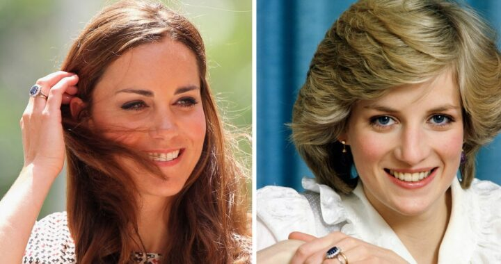 Kate Middleton e Lady D frangia