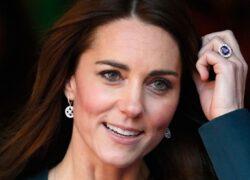 Kate Middleton e l'anello di fidanzamento