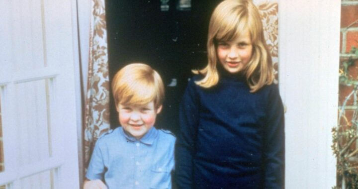 Lady Diana da piccola