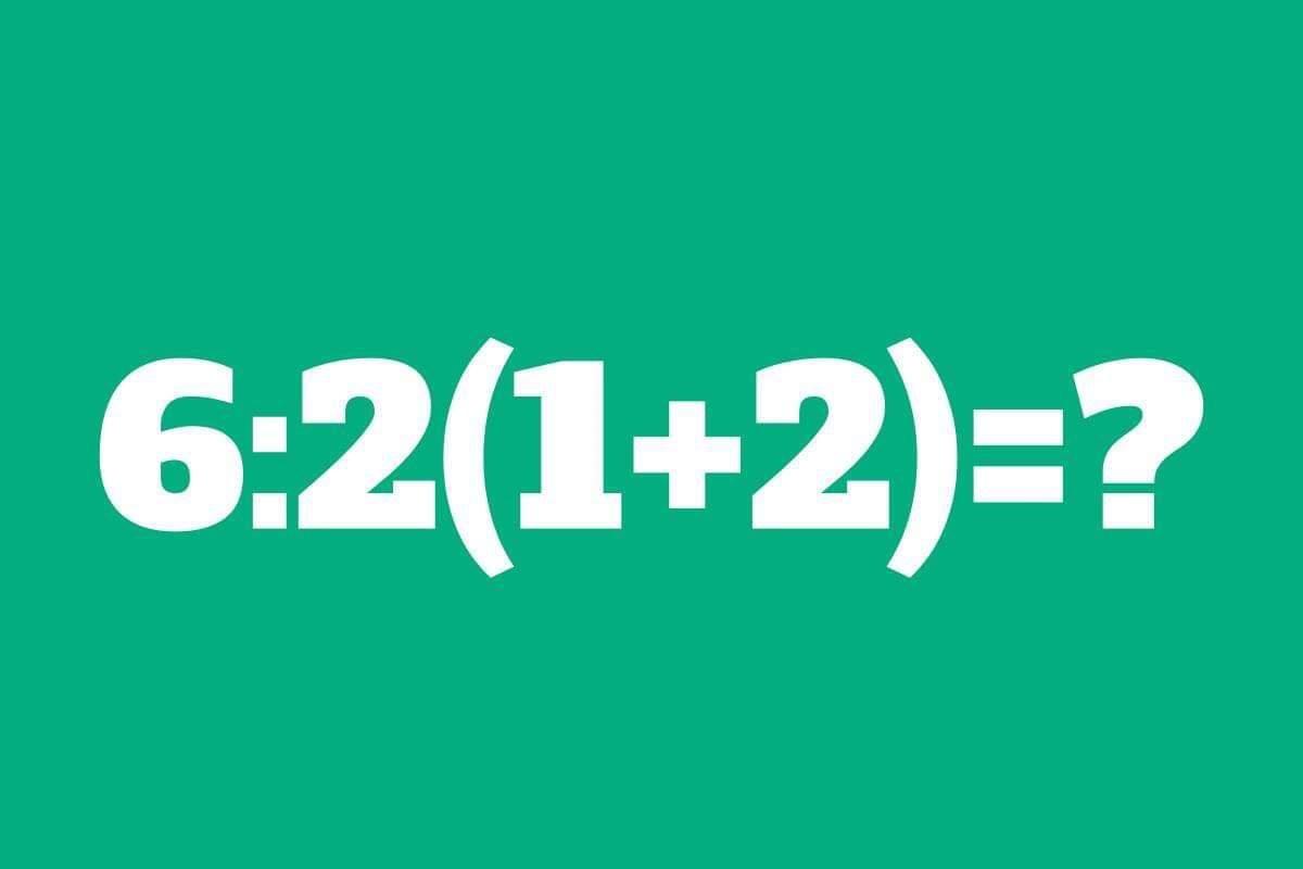 Esercizio matematica