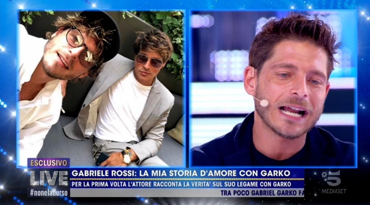 Gabriele Rossi, perché è finita la storia con Gabriel Garko: la verità