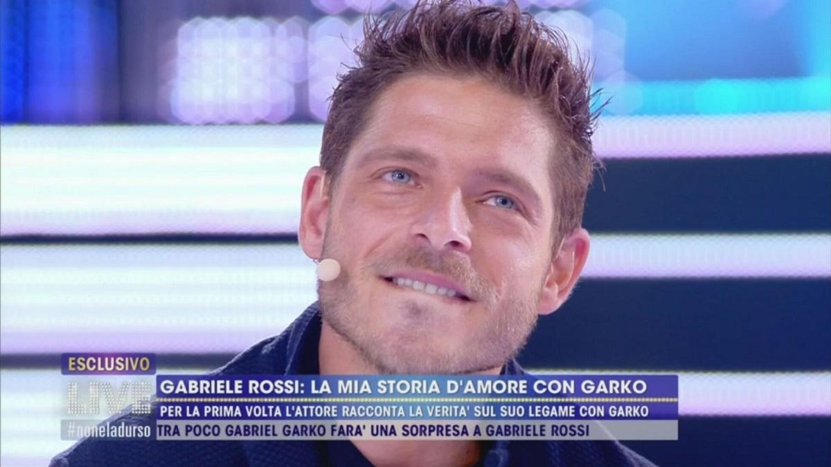 Live non è la D'Urso: Gabriele Rossi la storia con Garko