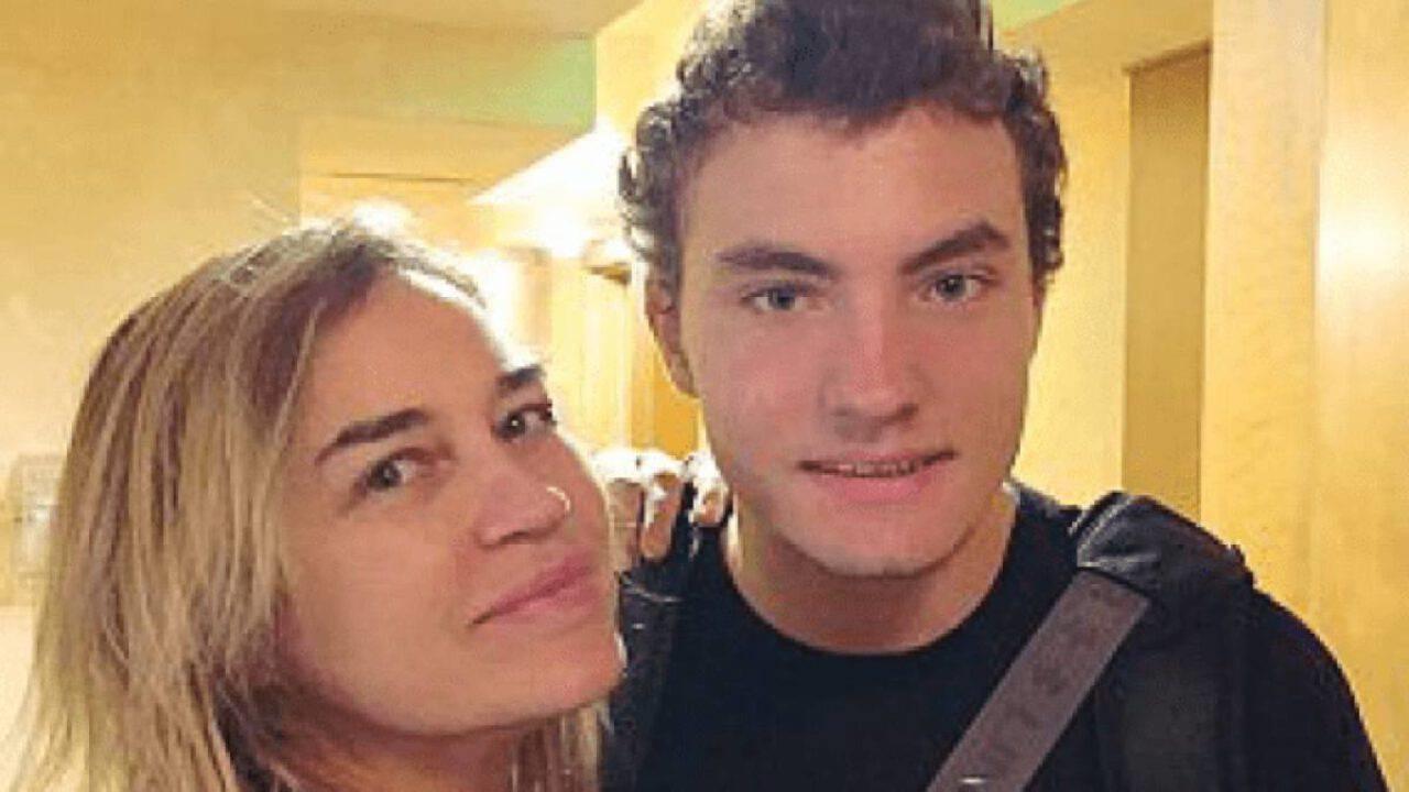 Lory Del Santo e il figlio Loren