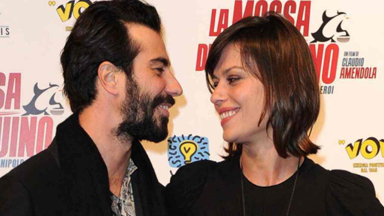 Marco De Angelis e Claudia Pandolfi