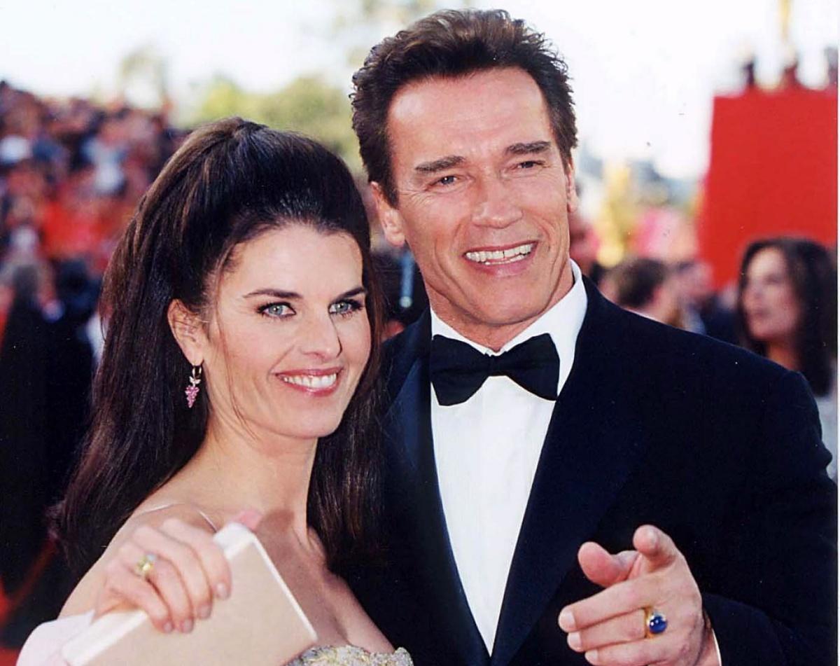Arnold Schwarzenegger e l'ex moglie