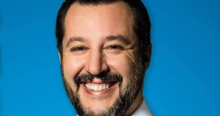 Matteo Salvini: come era da bambino il leader della Lega