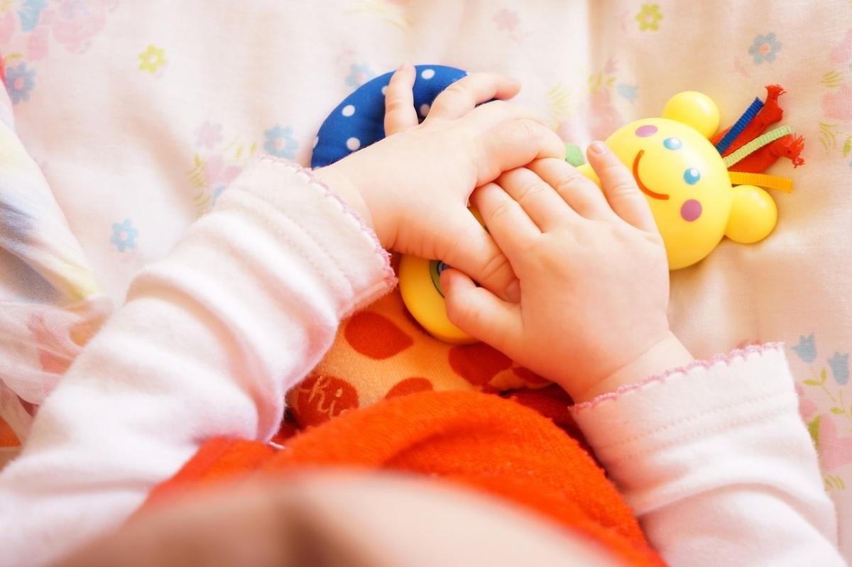 Neonata positiva contagiata nell'utero