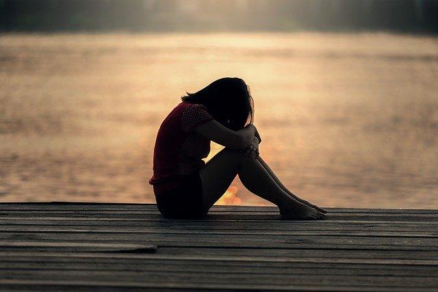 sofferenza per le persone negative