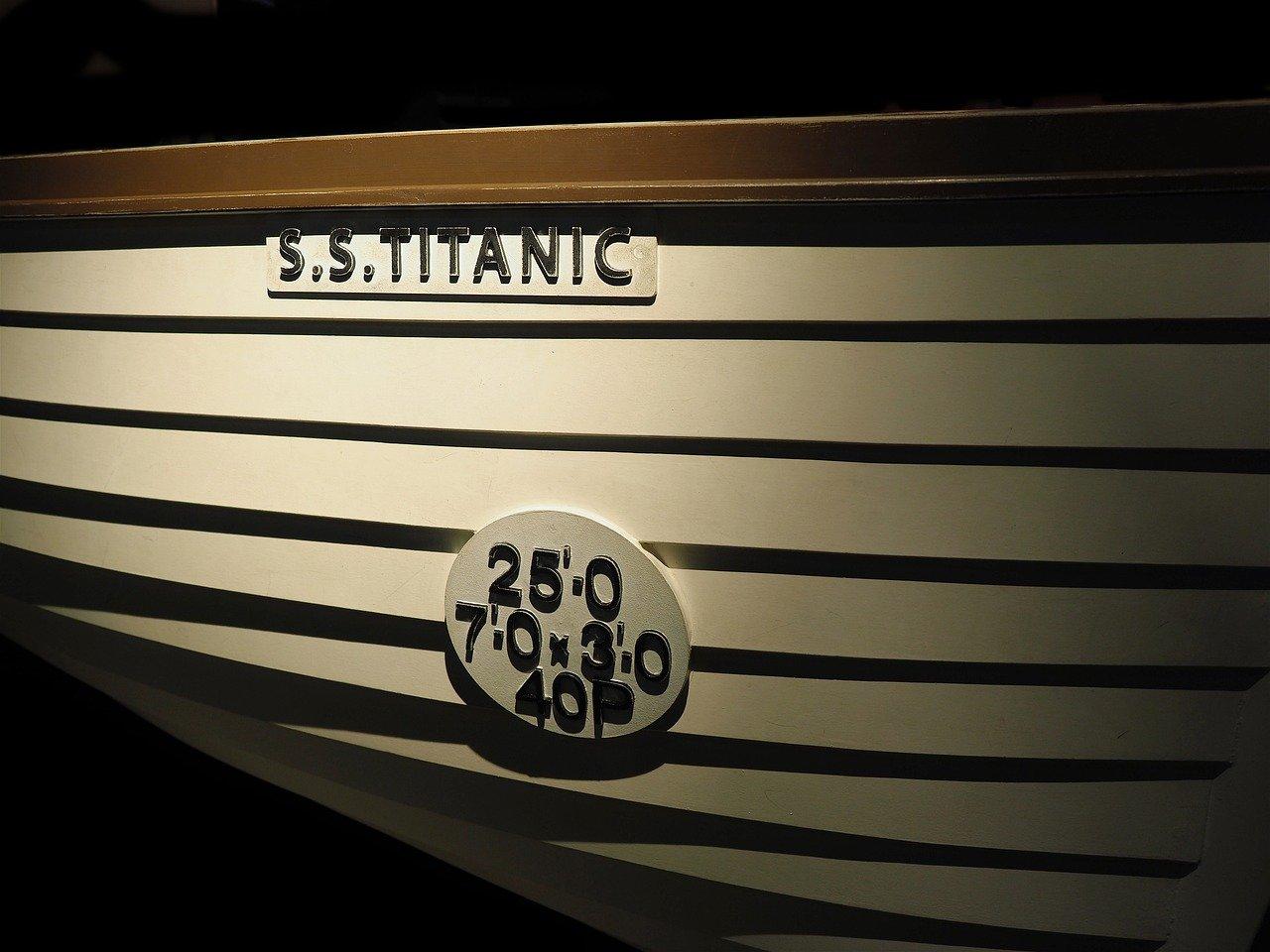 Scialuppa di salvataggio Titanic
