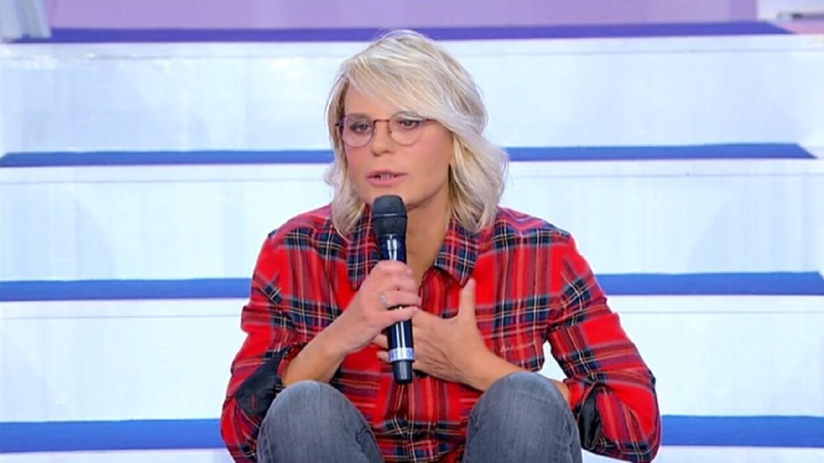 UeD: Maria De Filippi perde la pazienza con Gemma Galgani