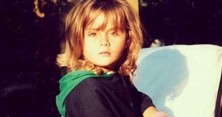 Carlotta Savorelli da piccola
