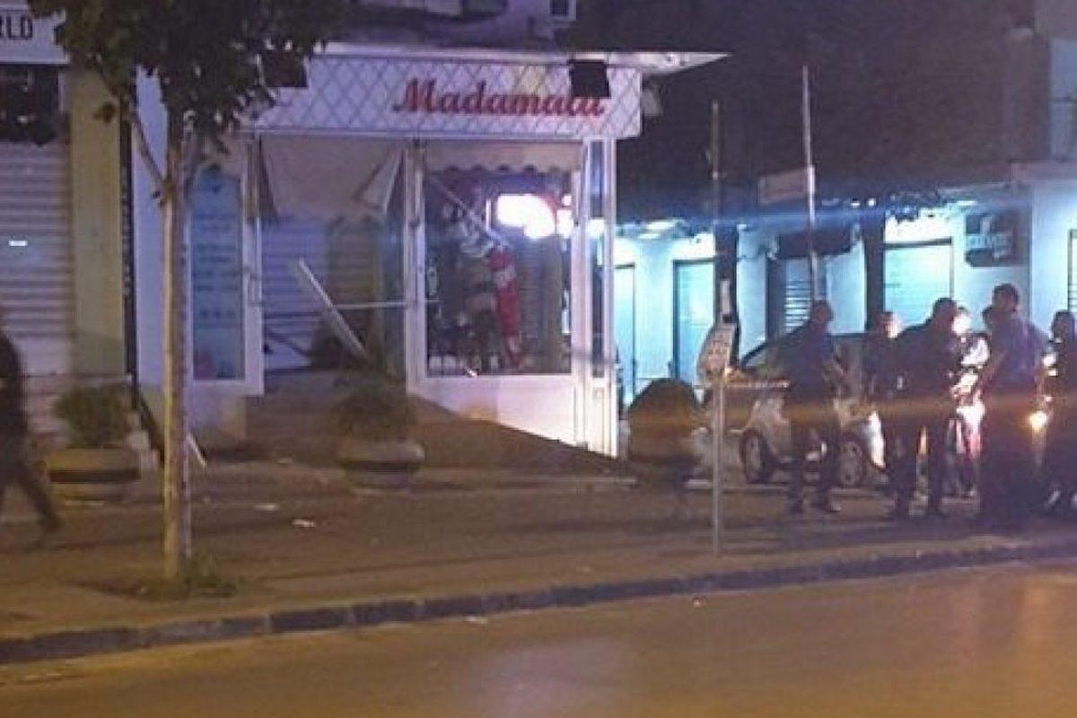 Casoria negozio distrutto