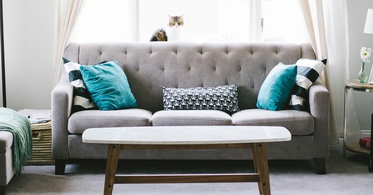 Come pulire i cuscini del divano