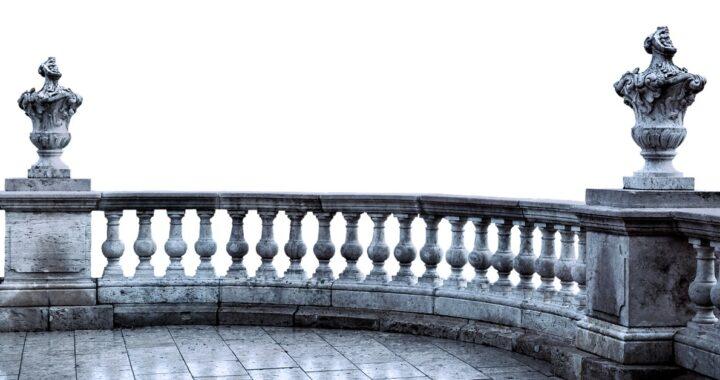 Come pulire le ringhiere del balcone
