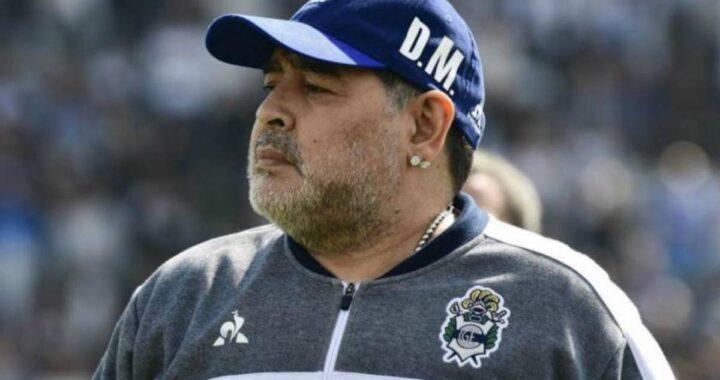 Diego Maradona nei panni di tecnico