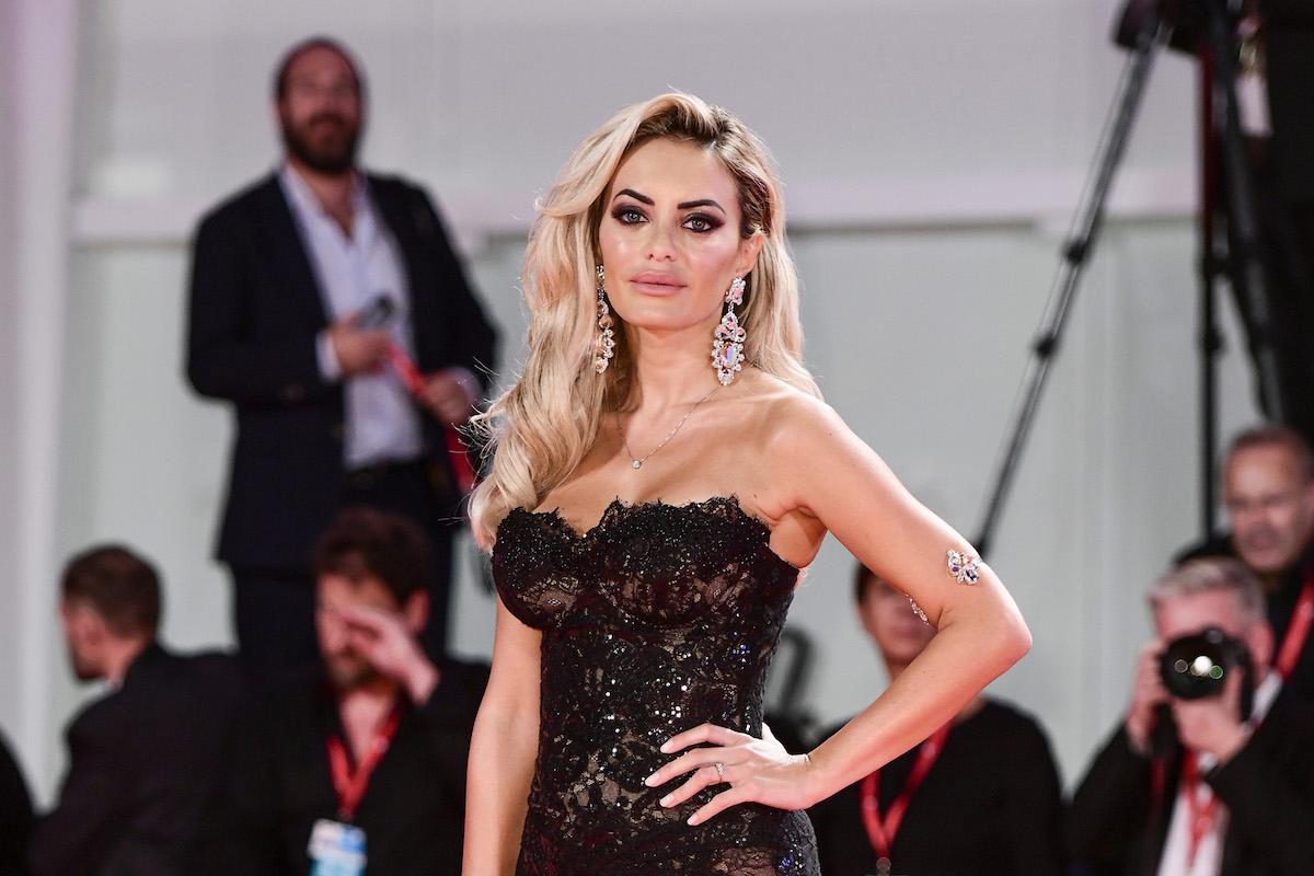 Elena Morali sul red carpet