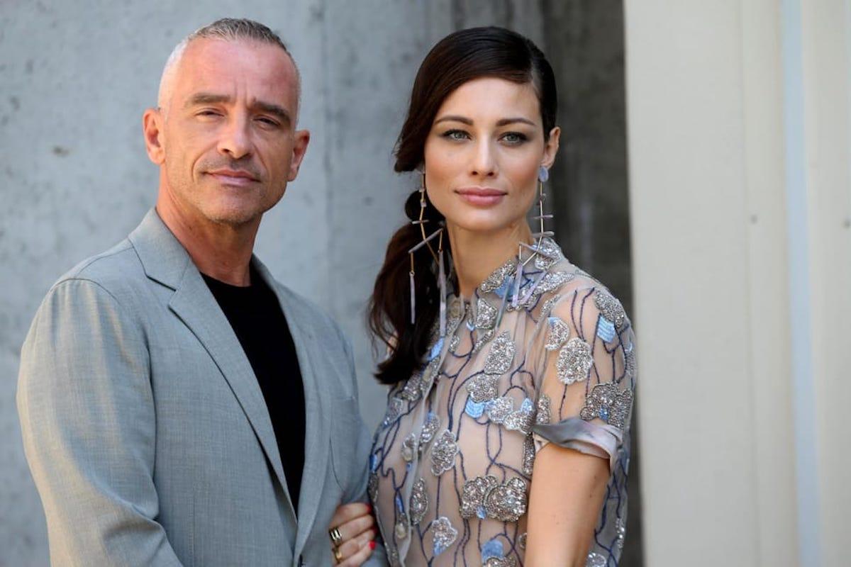 Marica Pellegrinelli e Eros Ramazzotti sorridenti