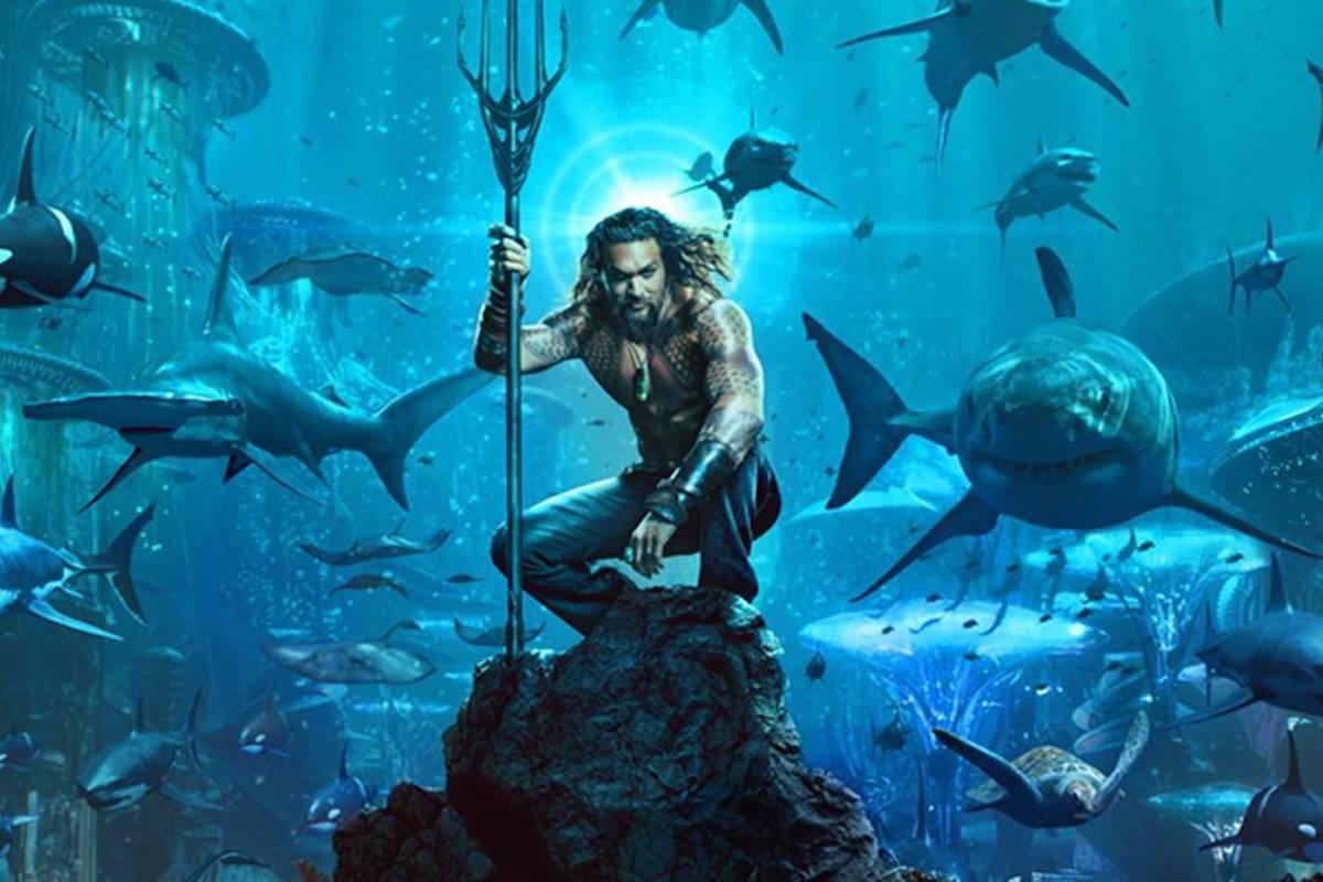 Aquaman in mare