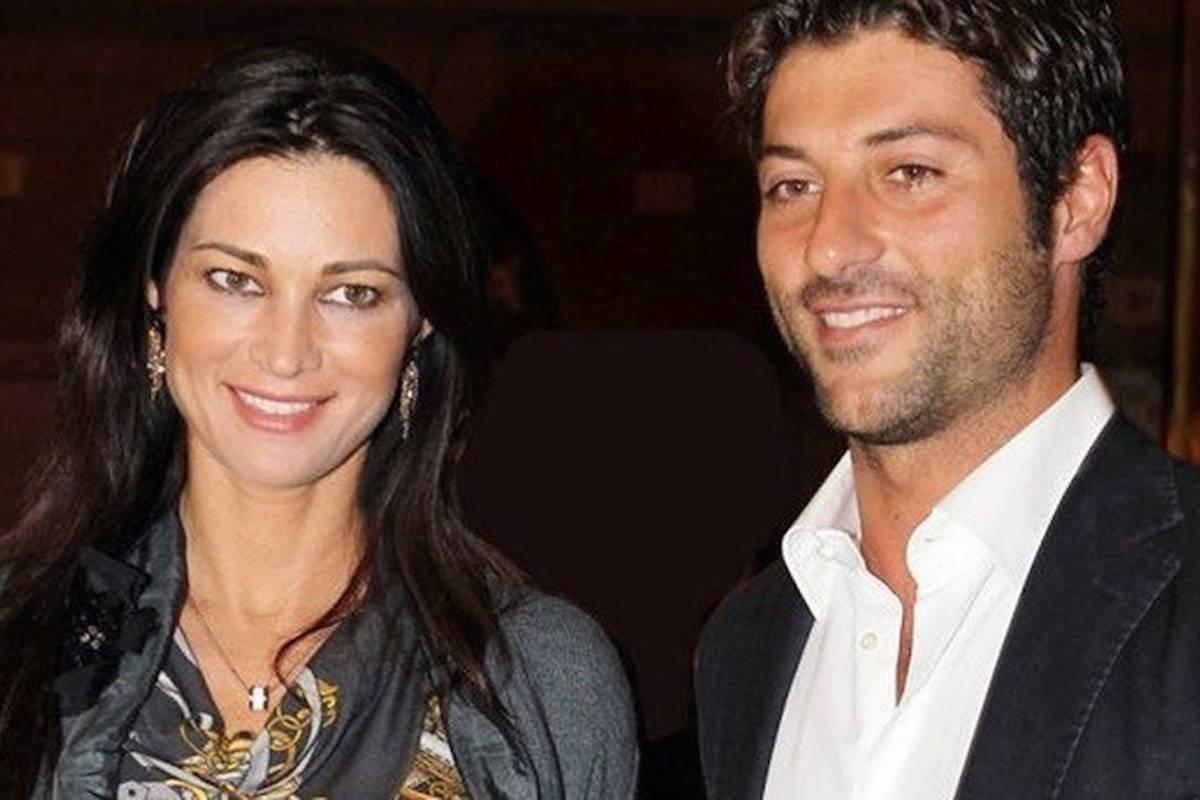 Manuela Arcuri e Giovanni Di Francesco sorridenti