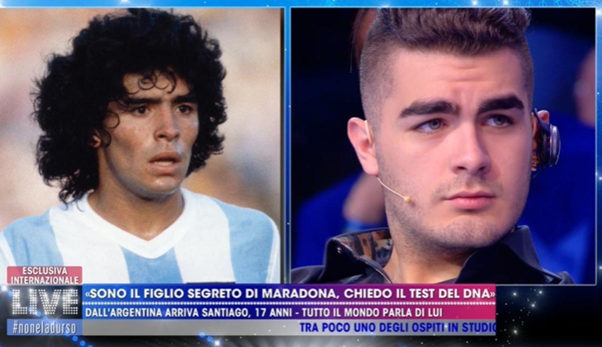 Santiago Lara richiede il test del DNA su Maradona