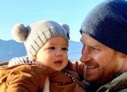 Meghan Markle ed Harry figlio