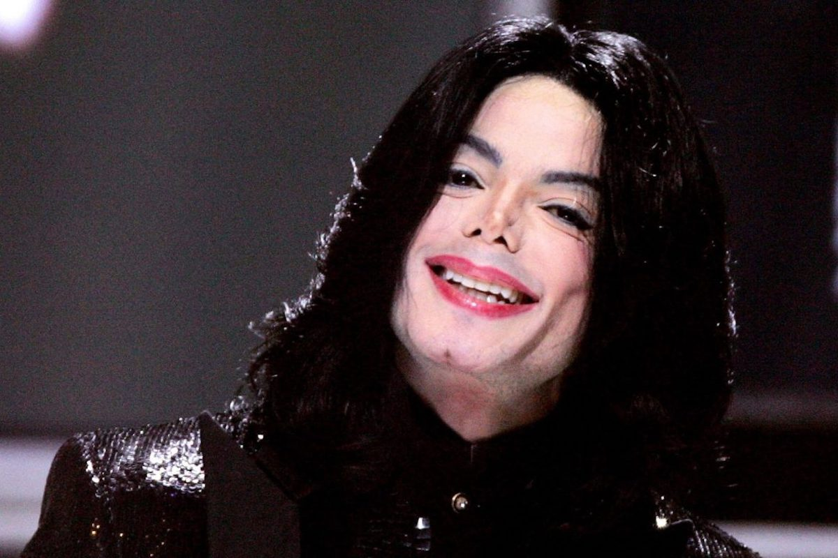 Michael Jackson sorridente