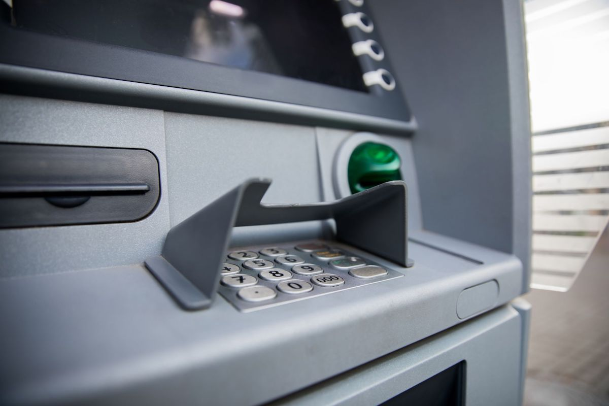 Macchinetta bancomat