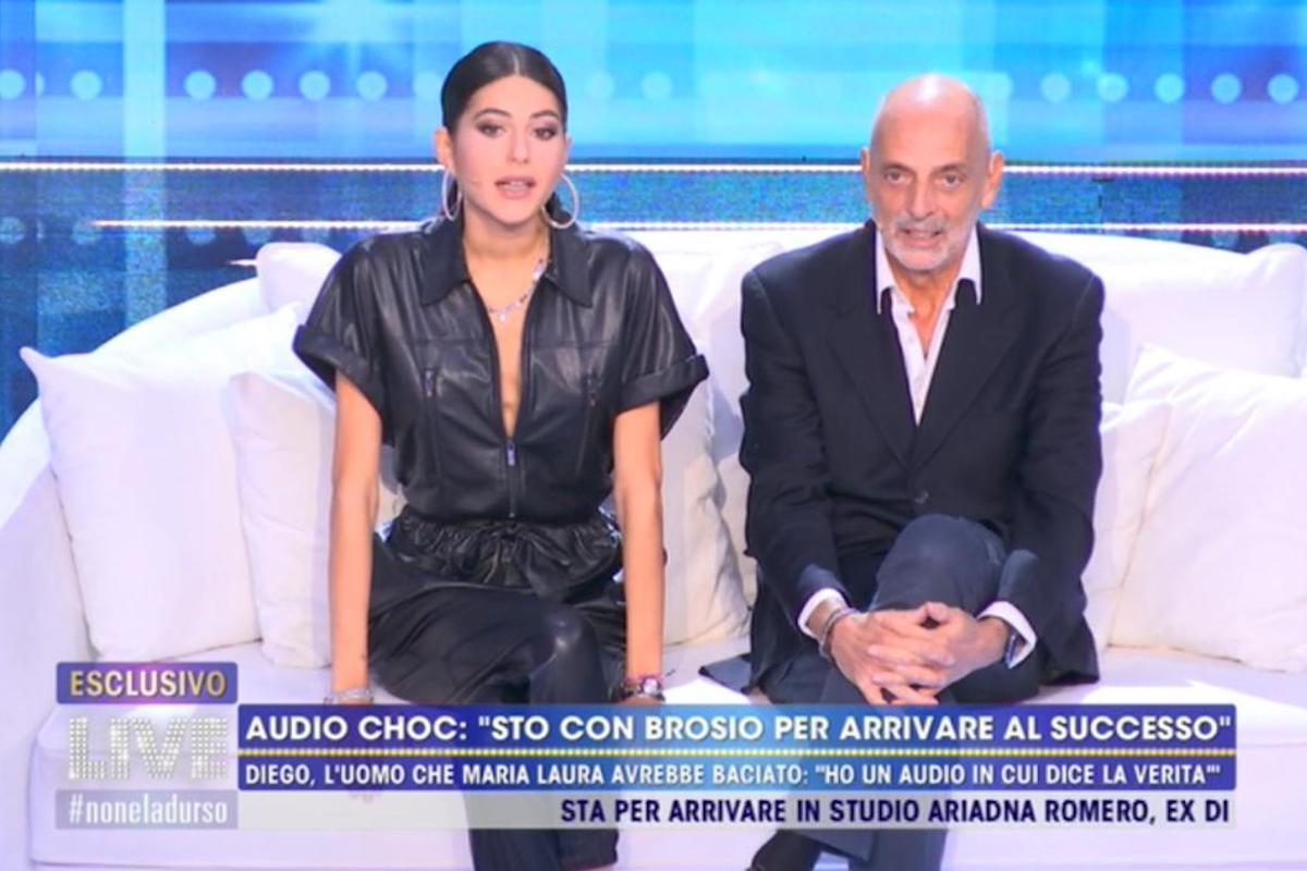 Maria Laura De Vitis a Live - Non è la d'Urso