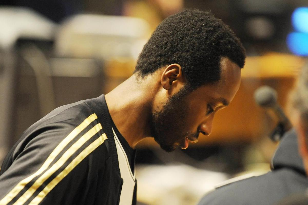 Rudy Guede in tribunale