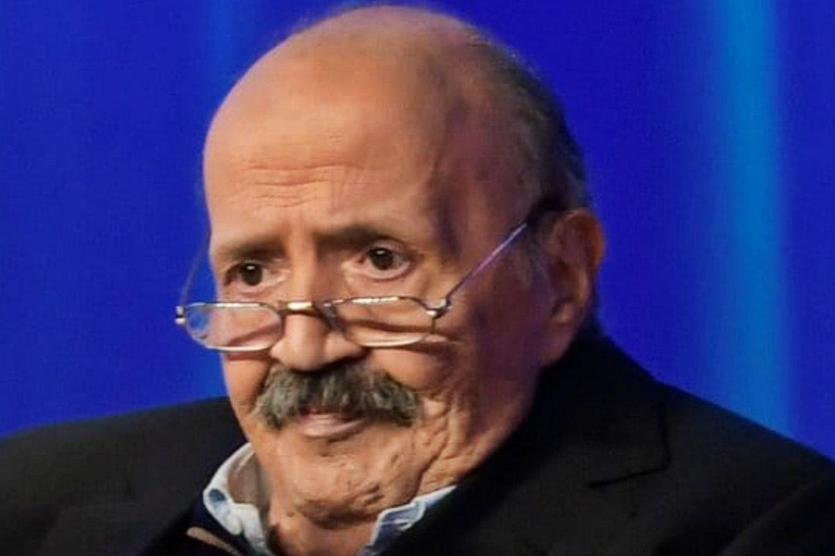 Primo piano Maurizio Costanzo