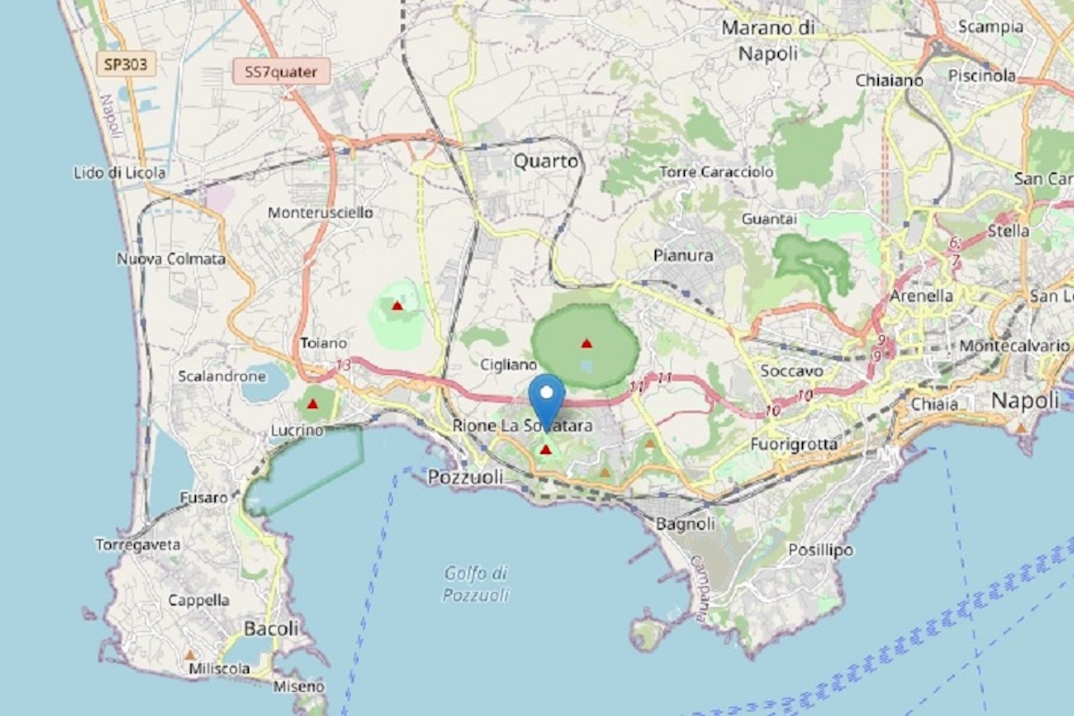 Campi Flegrei terremoto