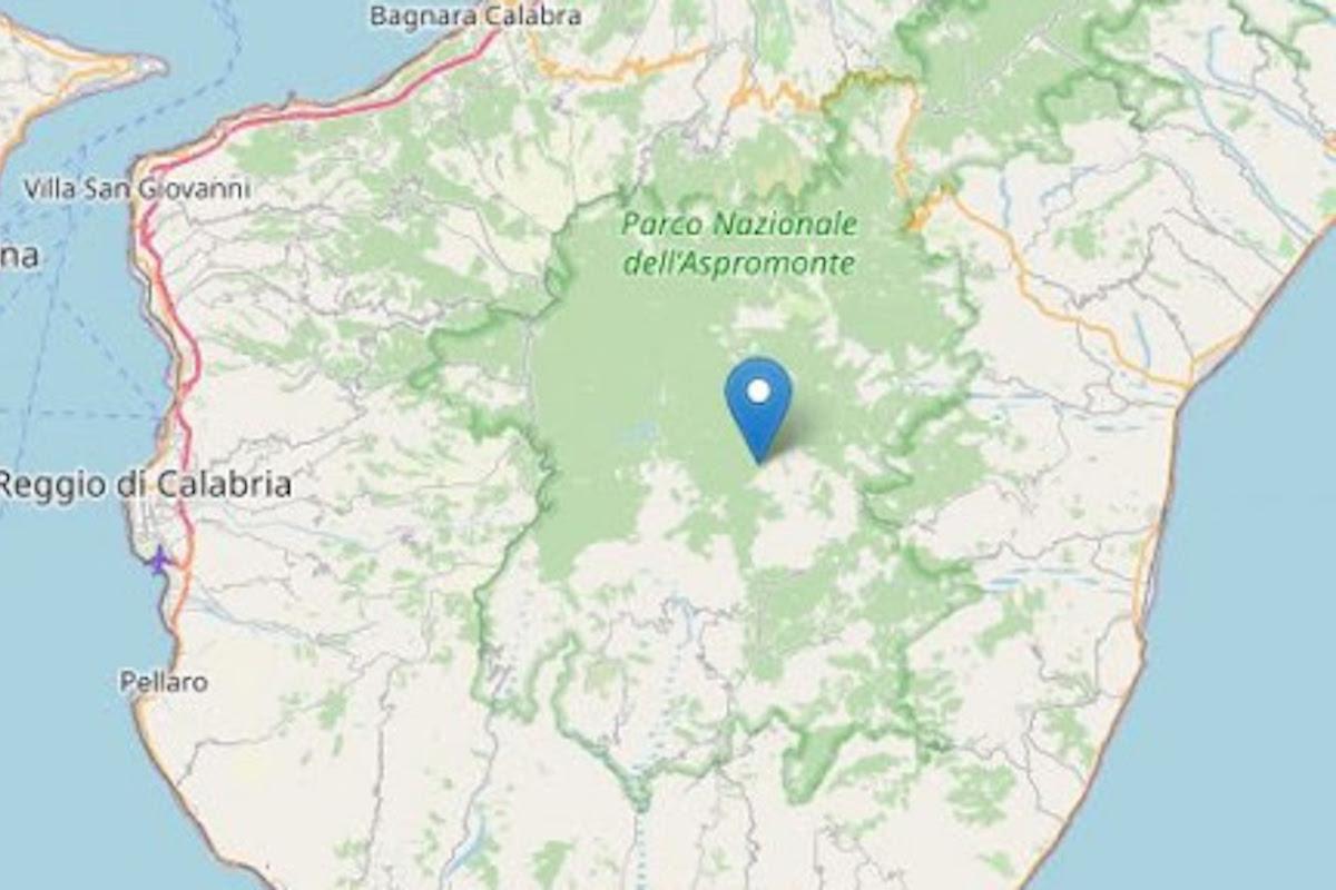 Reggio Calabria sulla cartina