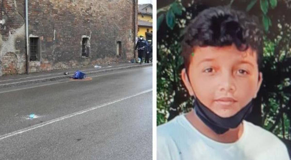 Youness Lakhdar è morto dopo che un furgone lo ha investito