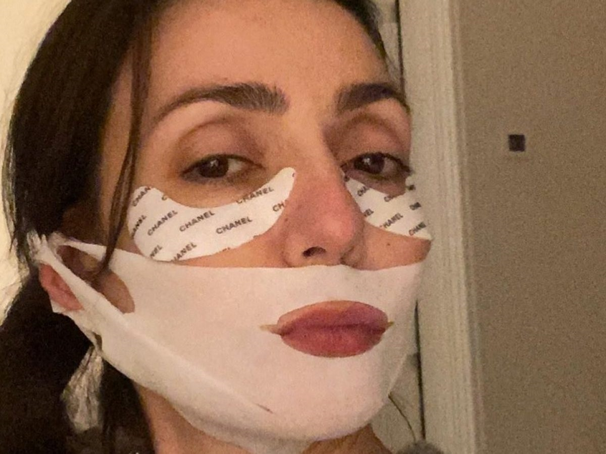 Ambra Angiolini una maschera costosa