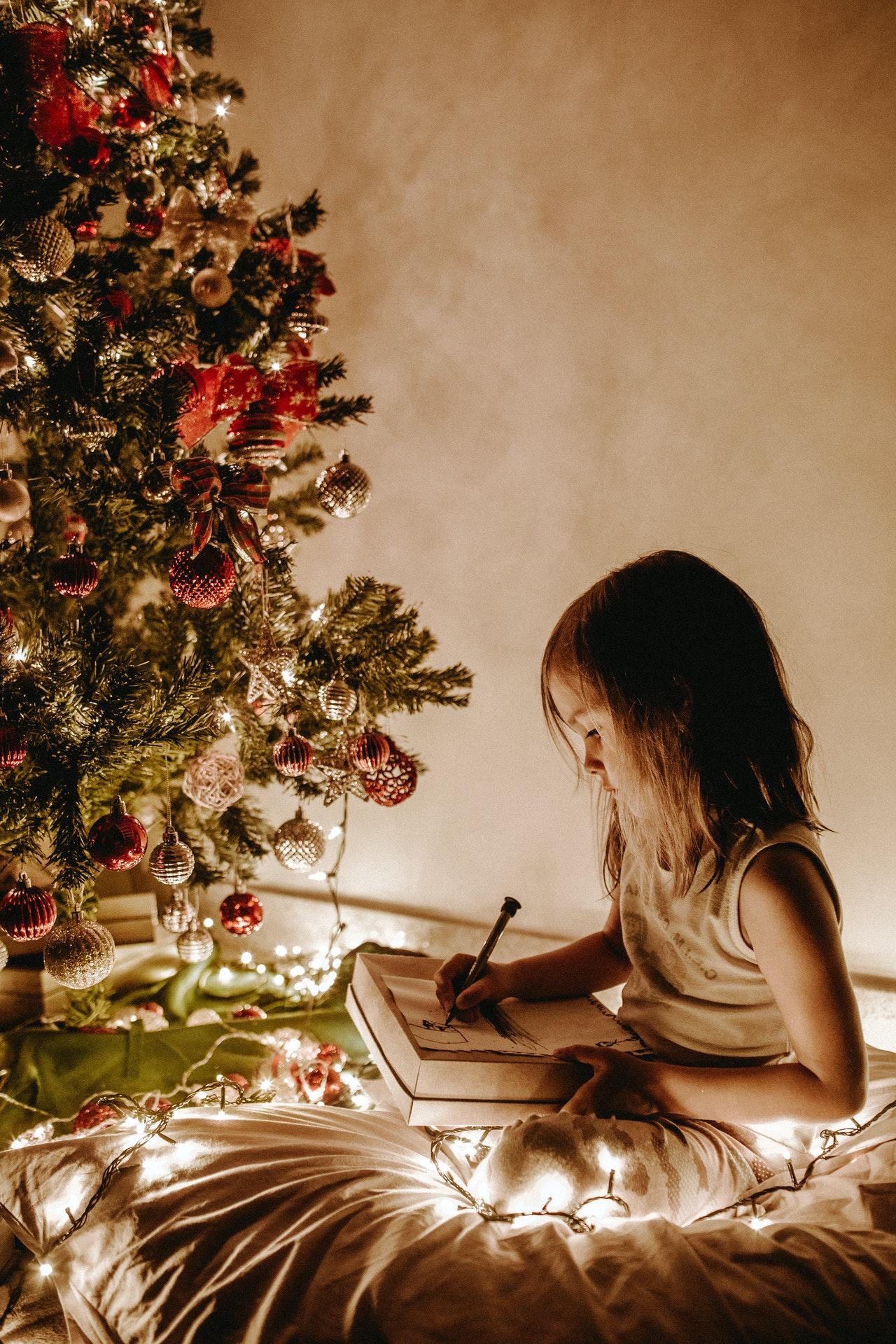 bambini e periodo-natalizio