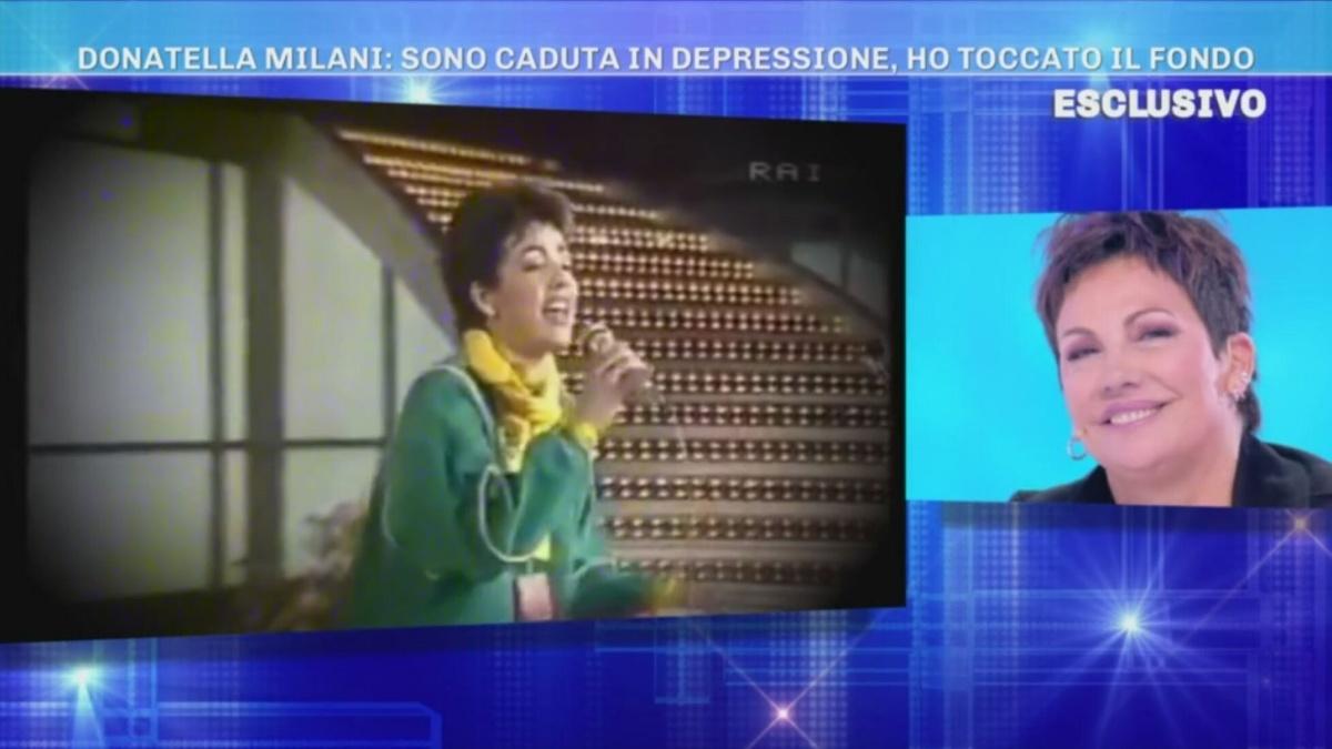 Donatella Milani e la depressione