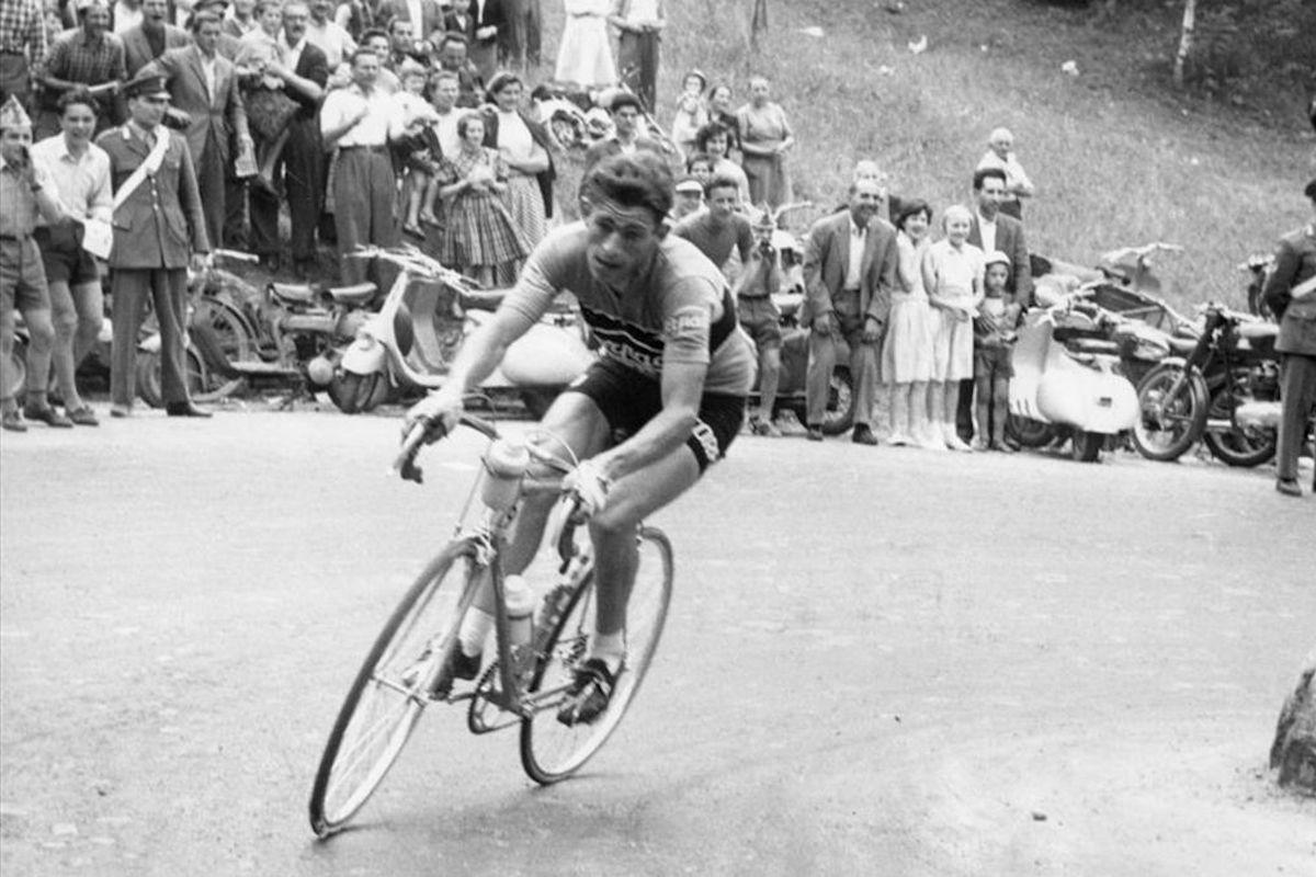 Aldo Moser in bici