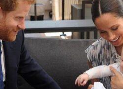 Meghan Markle Principe Harry figlio