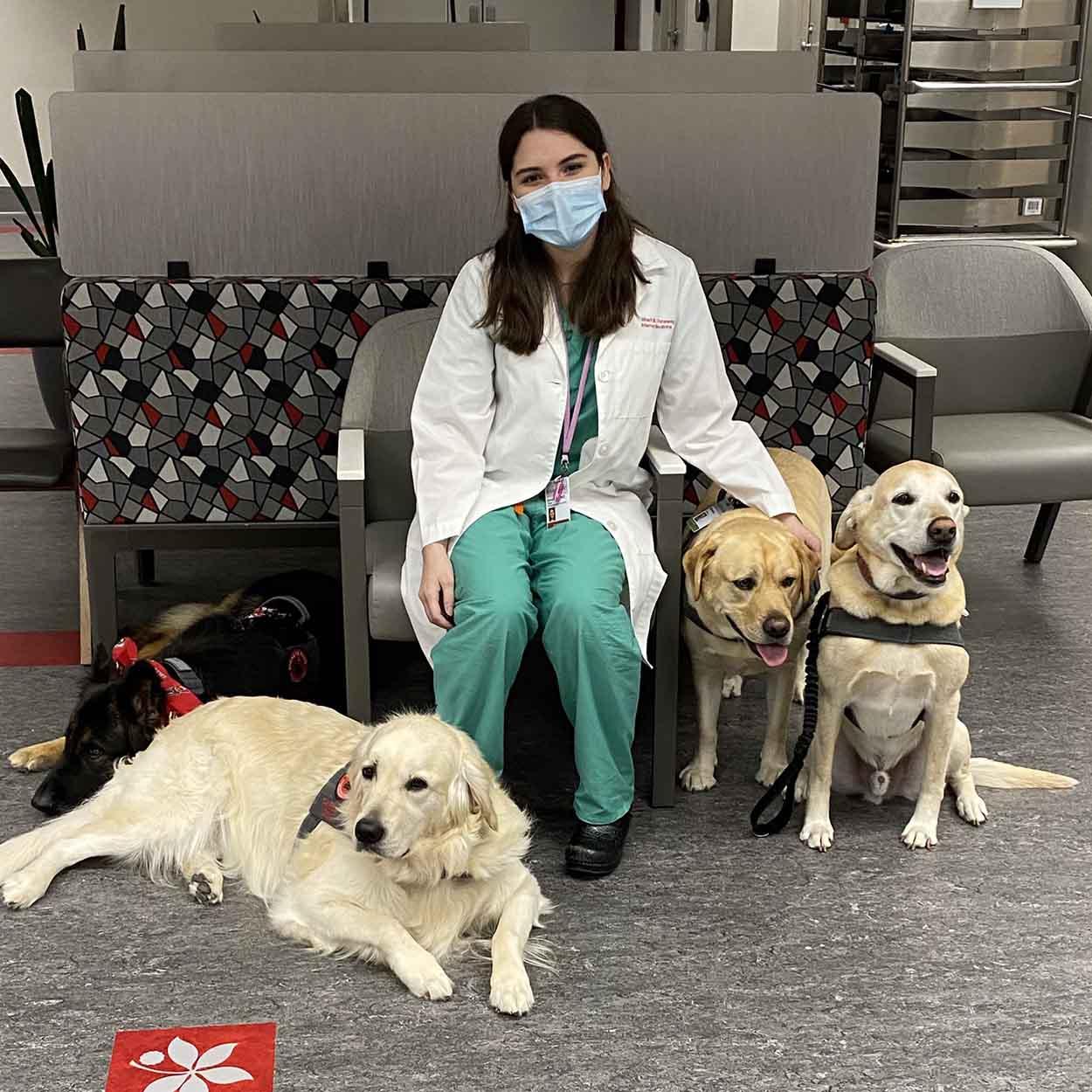 Pet therapy con i cuccioli