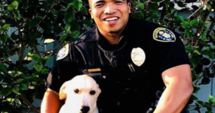 victor agente di polizia