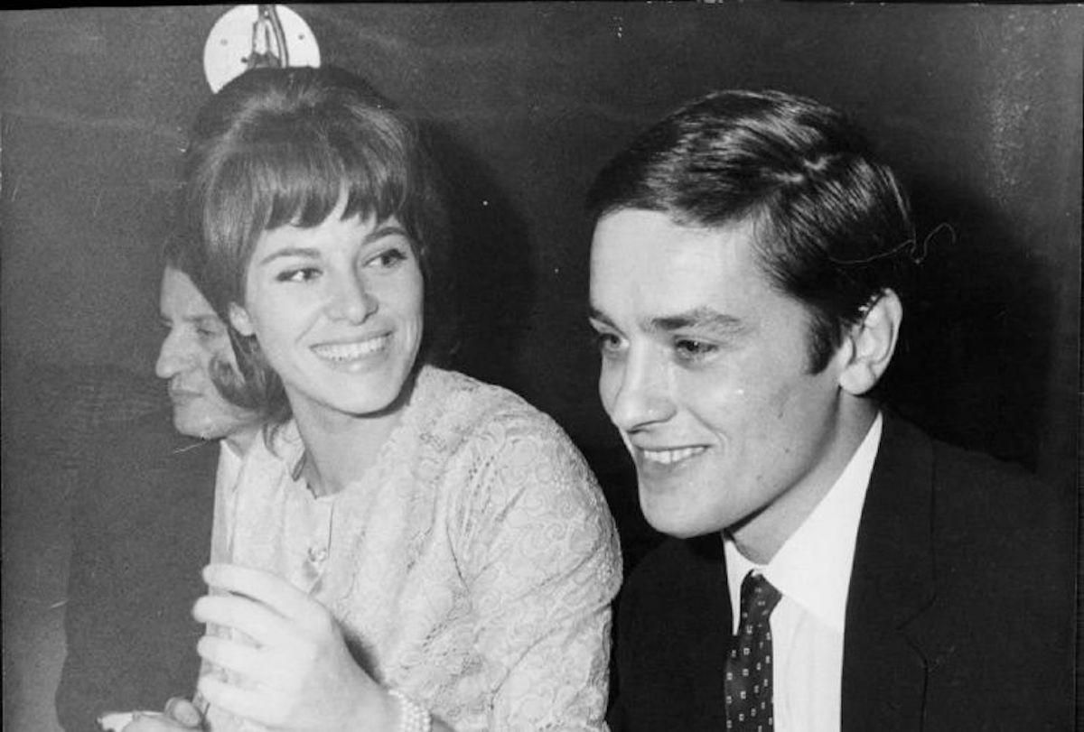 Alain Delon e Nathalie