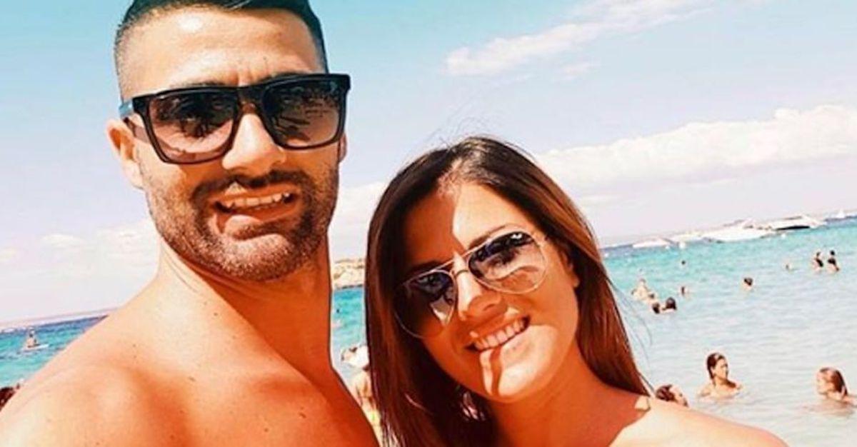 Selfie Speranza Capasso e Alberto Maritato