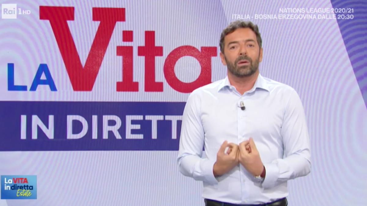 Alberto Matano al timone de La Vita in Diretta