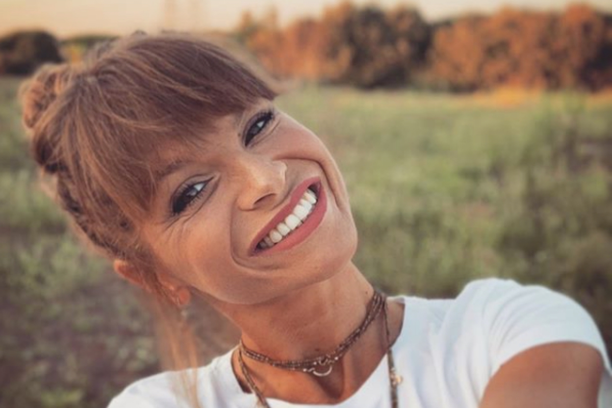 Amoroso Alessandra che sorride