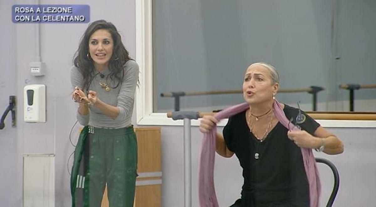 Alessandra Celentano discute con Elena d'Amario