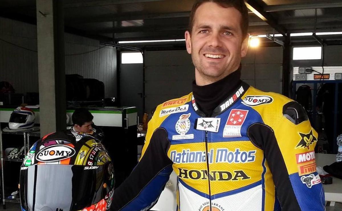 Arturo Tizon nel paddock