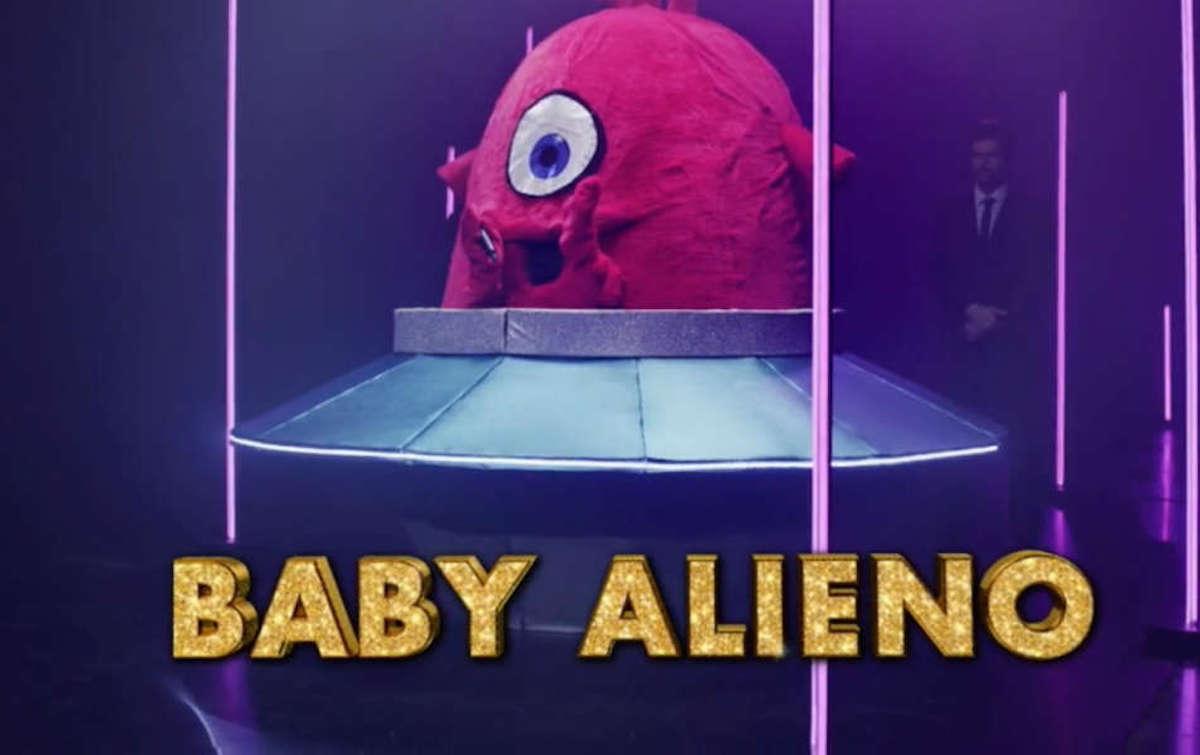 Baby Alieno concorrente Il Cantante Mascherato