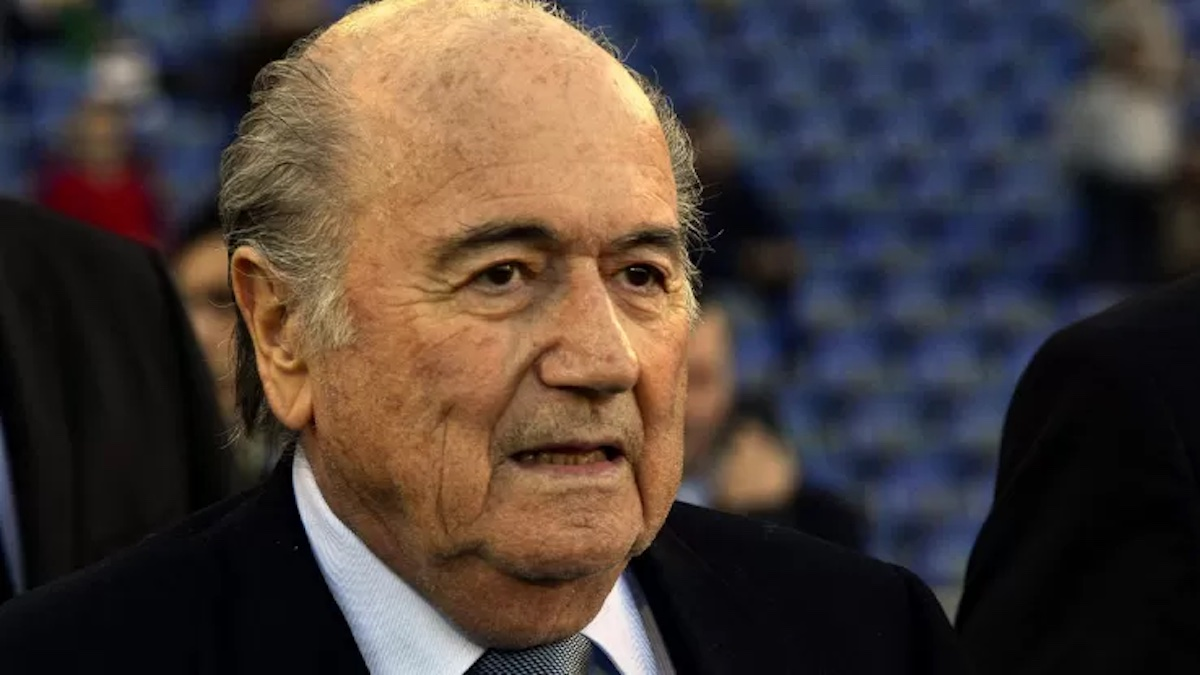 Primo piano Blatter